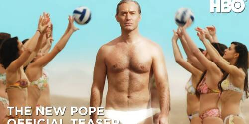 The New Pope, teaser trailer ufficiale