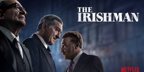 The Irishman, Trailer del film di Martin Scorsese