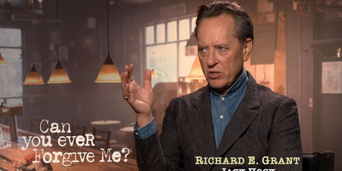 Copia Originale, Intervista a Richard E. Grant