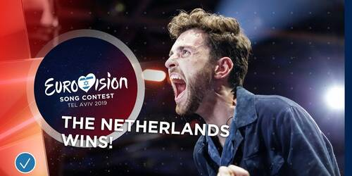 Duncan Laurence dei Paesi Bassi vince Eurovision Song Contest 2019