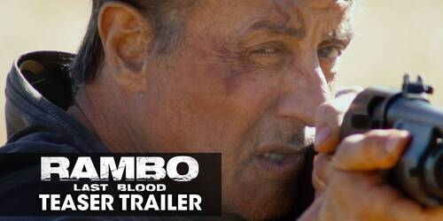 Rambo V: Last Blood, teaser trailer ufficiale