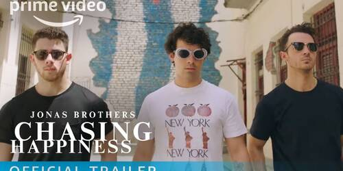 Jonas Brothers' Chasing Happiness, Trailer ufficiale