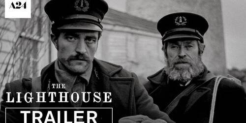 The Lighthouse, Trailer del film con Robert Pattinson
