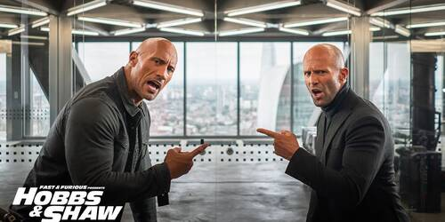Fast and Furious - Hobbs e Shaw, Trailer Spot Super Bowl LIII