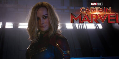 Captain Marvel, Spot Super Bowl in italiano