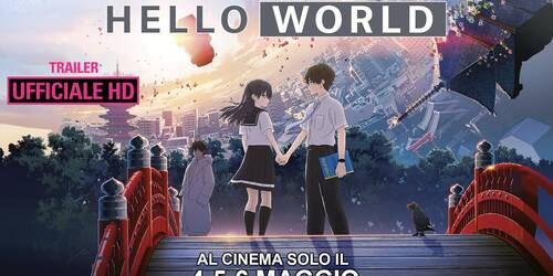 Hello World, Trailer italiano del film di Tomohiko Ito