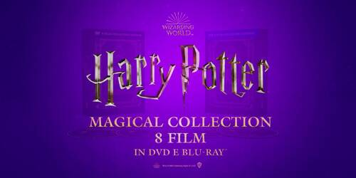 Harry Potter Magical Collection 8 film: Unboxing del Cofanetto