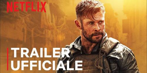 Tyler Rake, Trailer del film Netflix con Chris Hemsworth