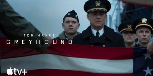 Greyhound, Trailer del film con Tom Hanks