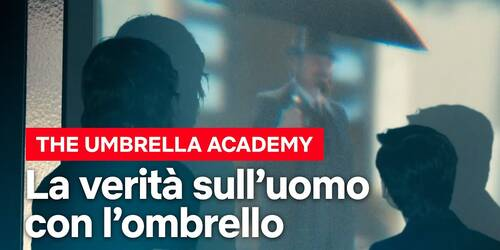 The Umbrella Academy, la verità sull'uomo con l'ombrello nell'assassinio di JFK