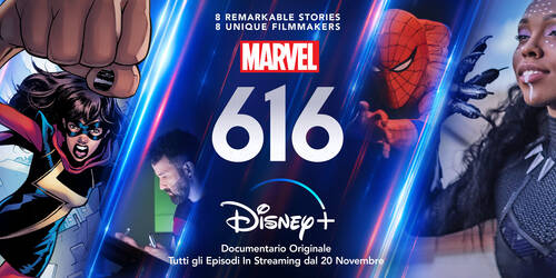 Marvel 616, Trailer della docuserie Disney Plus Original