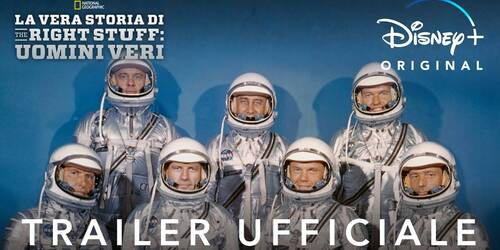 Trailer La Vera Storia di The Right Stuff: Uomini veri