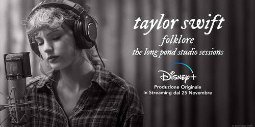 Taylor Swift interpreta e racconta l'album Folklore in 'The Long Pond Studio Sessions' su Disney Plus
