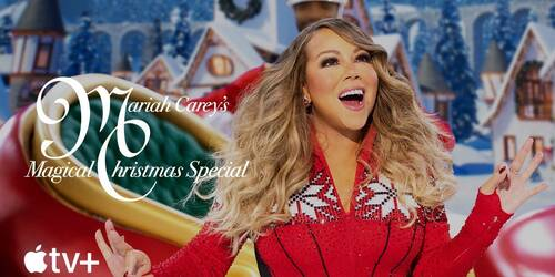 Trailer dello Speciale di Natale di Mariah Carey su Apple TV Plus