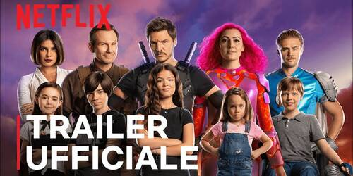Trailer We Can Be Heroes con Priyanka Chopra e Pedro Pascal in arrivo su Netflix