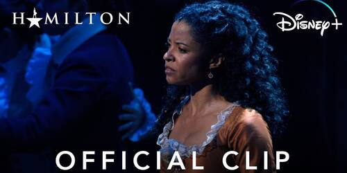 Satisfied: Clip da Hamilton su Disney Plus