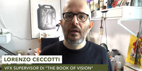 The Book of Vision, il VFX Supervisor LRNZ analizza una scena del film dopo la candidatura ai David di Donatello 2021
