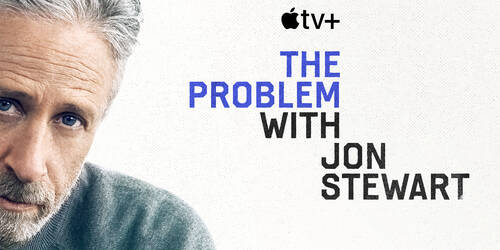 Poster The Problem With Jon Stewart [credit: courtesy of Apple]