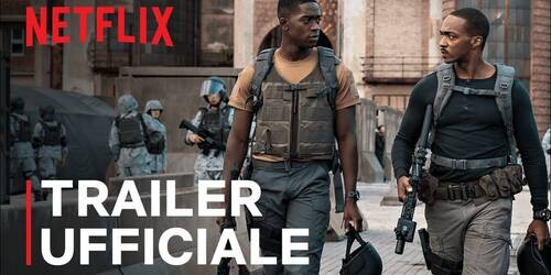 Outside the Wire, Trailer del film con Anthony Mackie e Damson Idris su Netflix